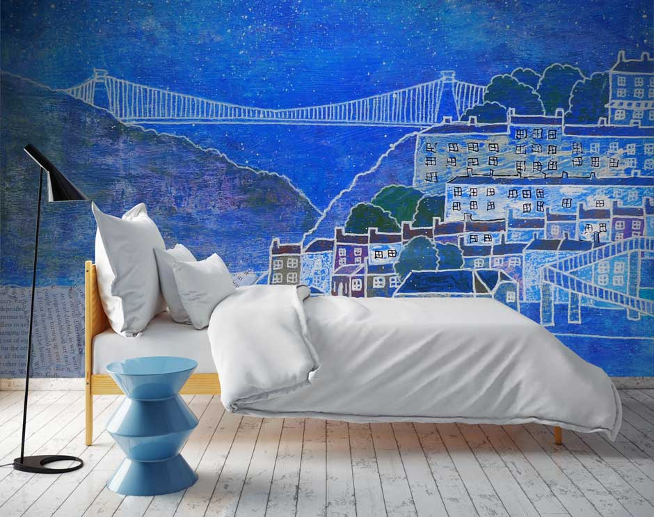 Custom wall murals photo wallpaper redcliffe imaging for Digital wallpaper mural