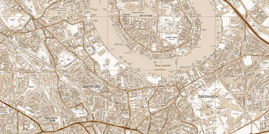 Map Wall Paper detailed wallpaper map of your local area