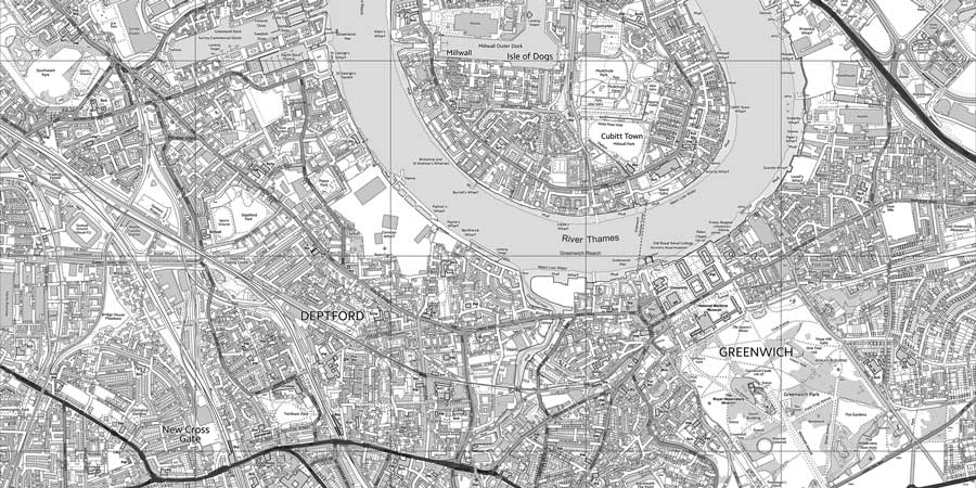 Detailed wallpaper map of your local area os postcode map with bw tint gumiabroncs Gallery