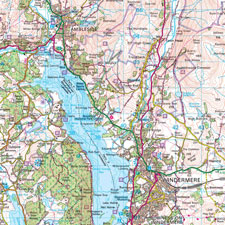 Ordnance Survey Landranger Wallpaper Map