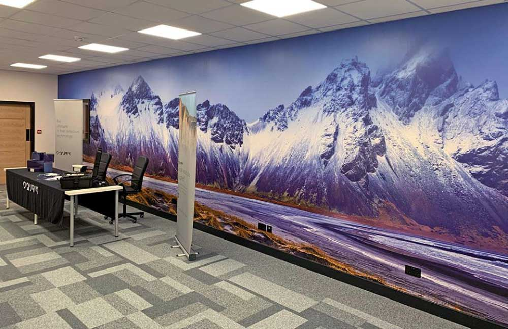 Mountain Photo Mural