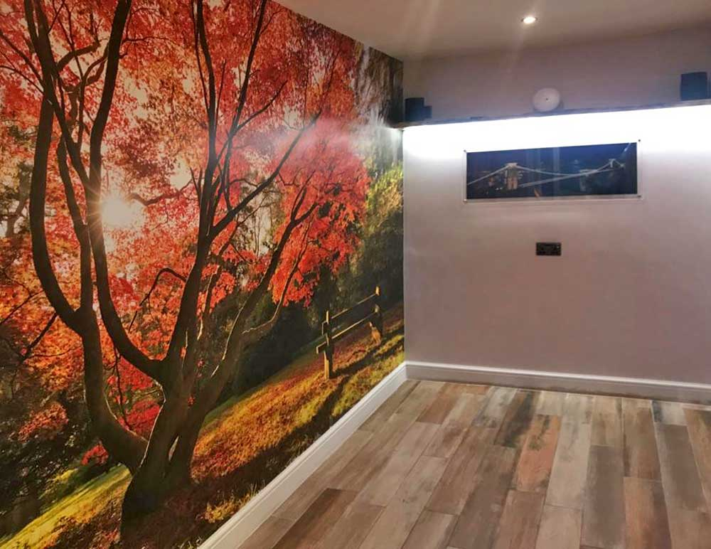 Autumn Leaves Photo Mural