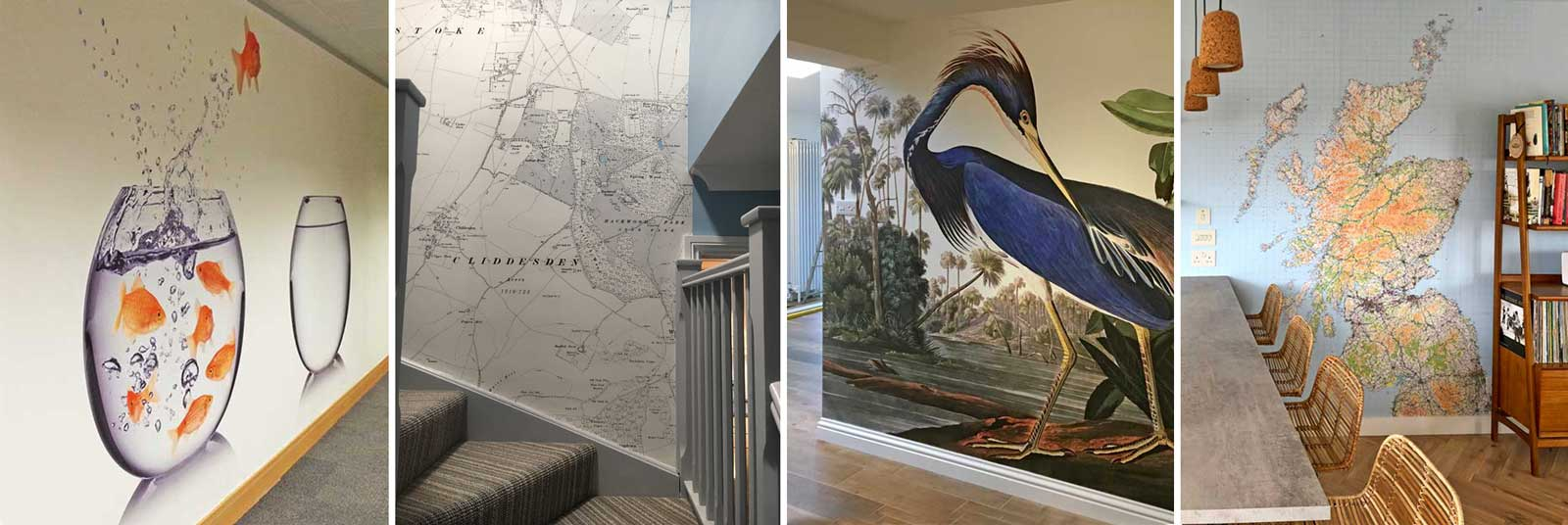 wallpaper mural features