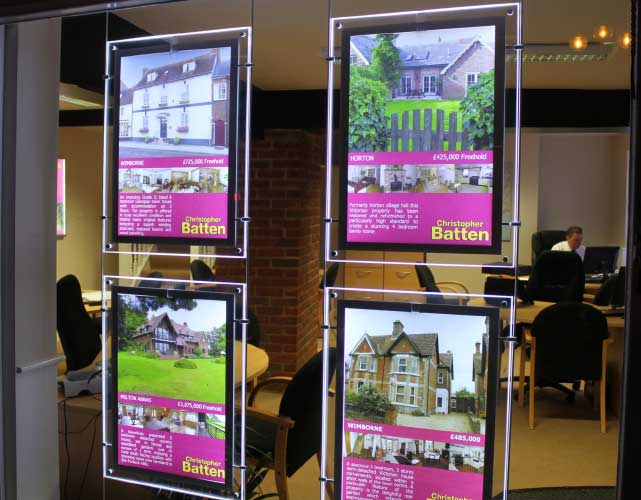 Postcode Wallpaper Map Displays For Estate Agents