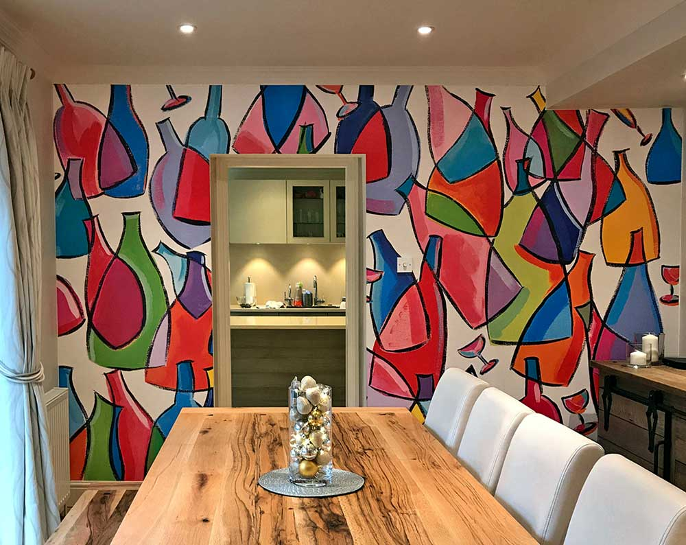 Bespoke Printed Wallpaper Mural