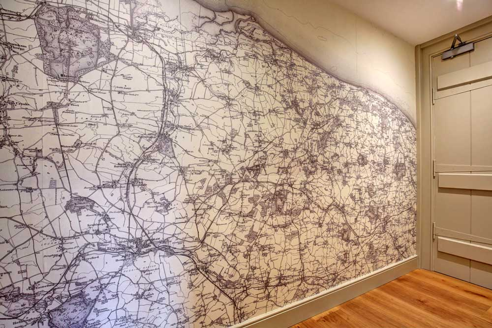 Ordnance Survey One-Inch to the Mile Wallpaper Map