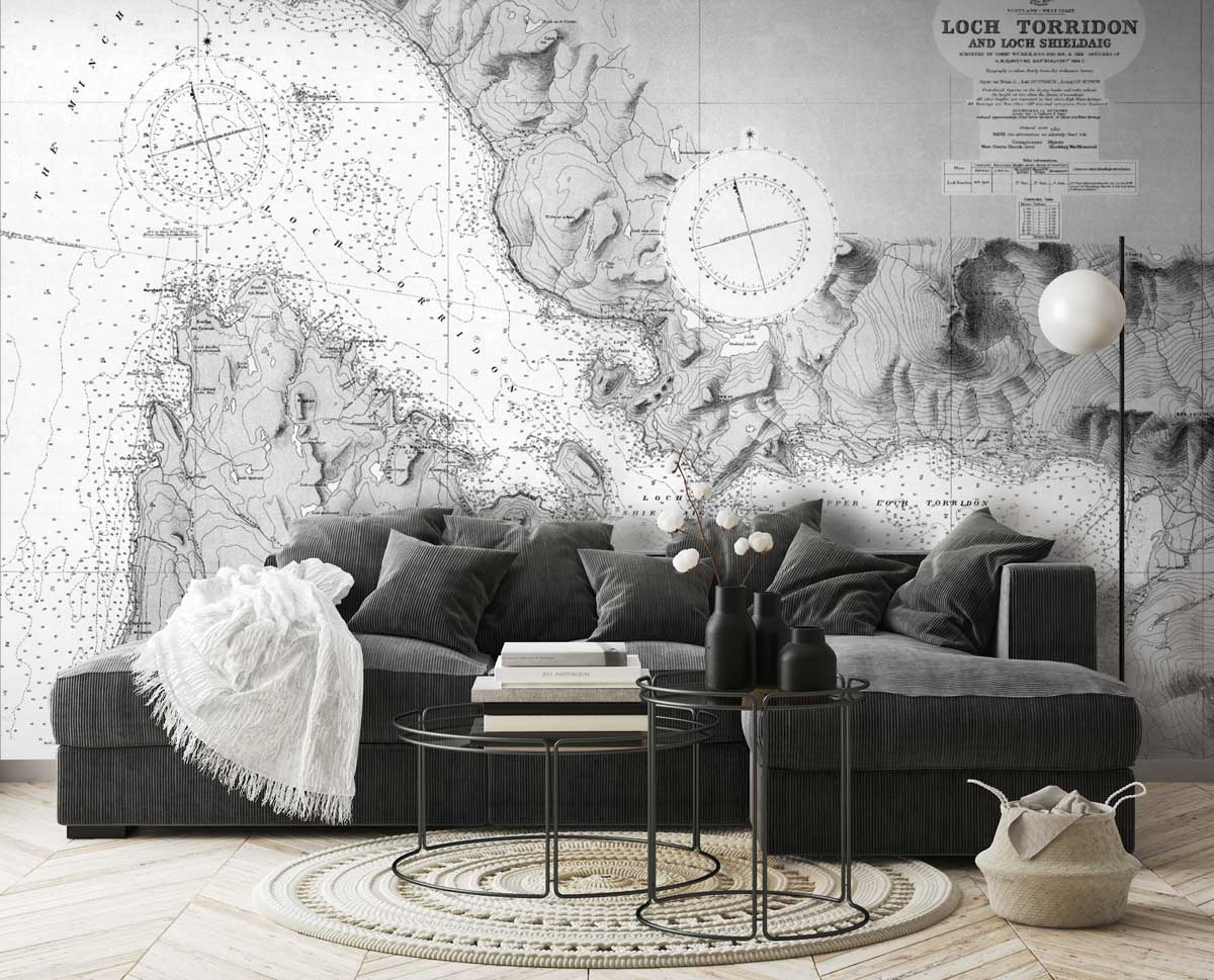 Historic Admiralty Charts Wallpaper