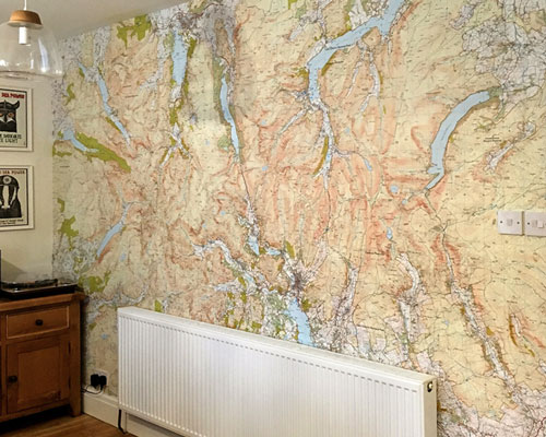 Ordnance Survey Explorer (1:25 000) Map Wallpaper