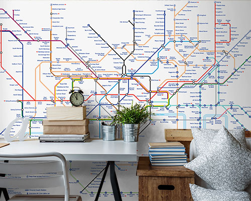 London Underground Tube Map Wallpaper