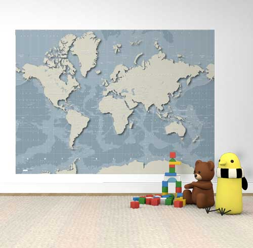 World Map Poster Prints