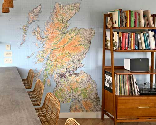 Ordnance Survey Map Wallpaper